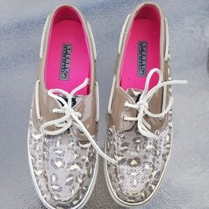 Sperry sequin shoes